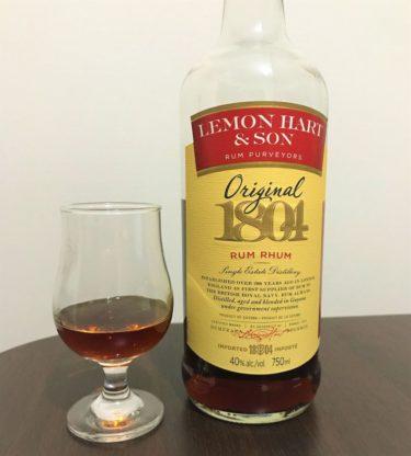 レモンハート オリジナル1804 デメラララム Lemon hratOriginal  1804  Rum Rhum