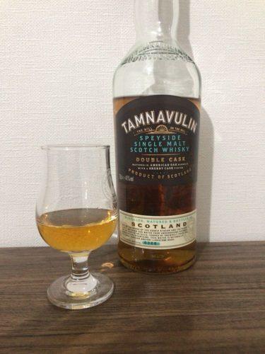 タムナヴーリン ダブルカスク Tamnavulin Double Cask 【テイスティングレビュー】スコッチ スペイサイド シングルモルト